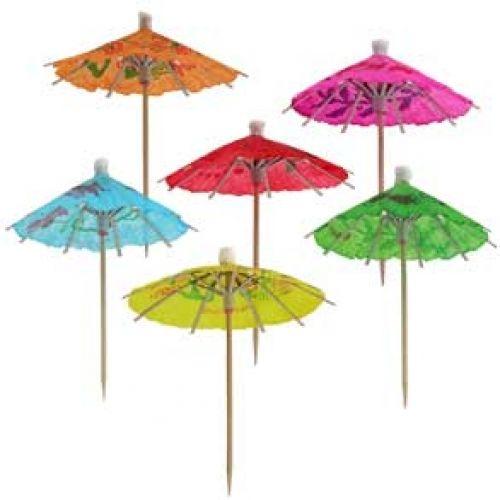 Зонтики в коктейль как сделать своими руками